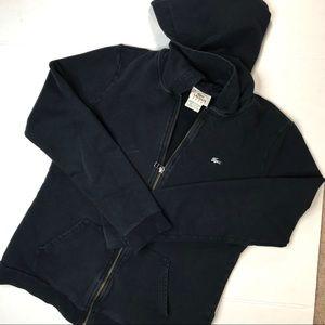 LACOSTE zip hoodie sz 40